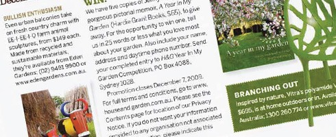 Australian House and Garden
