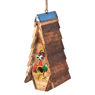 Cuckoos Nest - Recycled & Handmade - Bird House