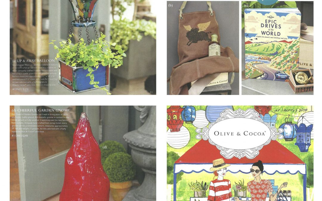 OLIVE & COCOA Summer Catalogue